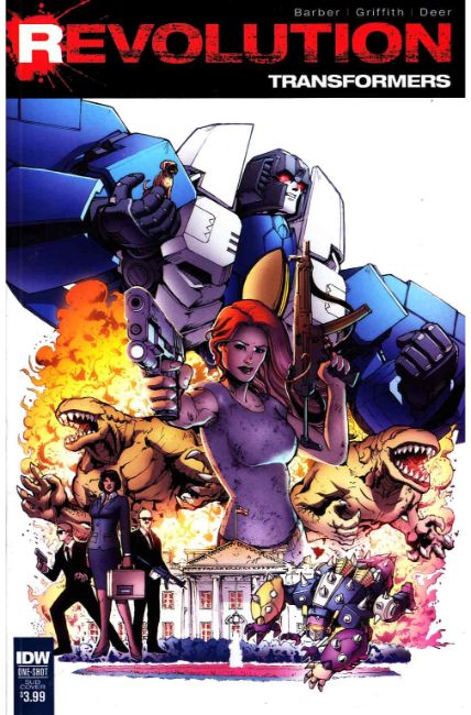 Transformers Revolution #1 Subscription Cover [IDW Comic] THUMBNAIL