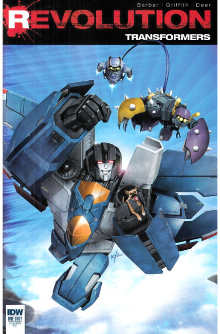 Transformers Revolution #1 Cover RI [IDW Comic] THUMBNAIL