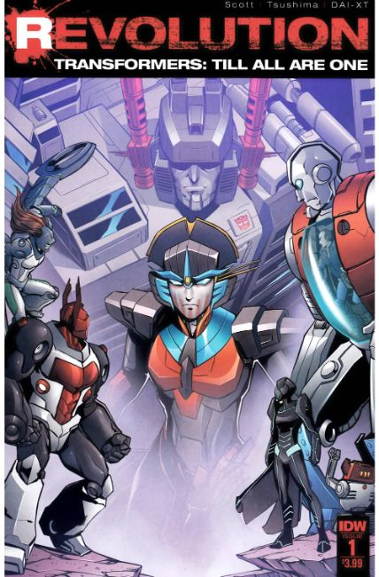 Transformers Till All Are One Revolution #1 [IDW Comic] THUMBNAIL