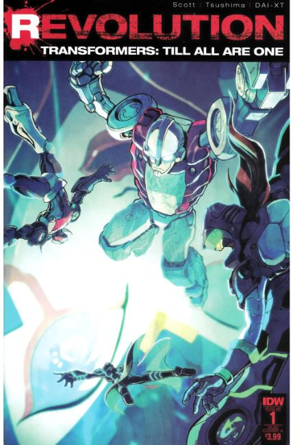 Transformers Till All Are One Revolution #1 Subscription Cover [IDW Comic] THUMBNAIL