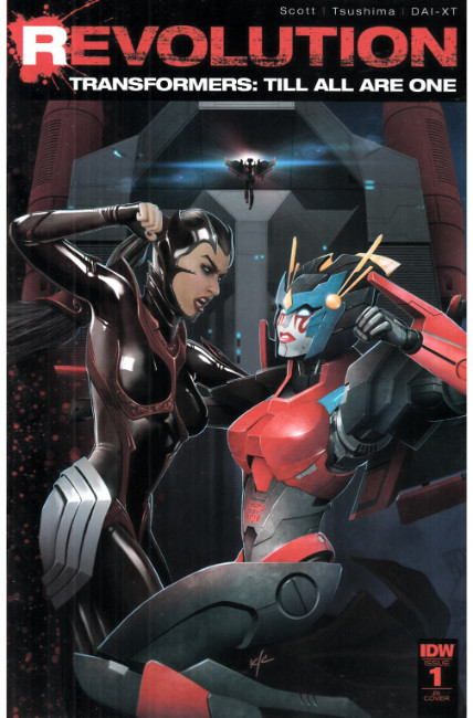 Transformers Till All Are One Revolution #1 Cover RI [IDW Comic] THUMBNAIL