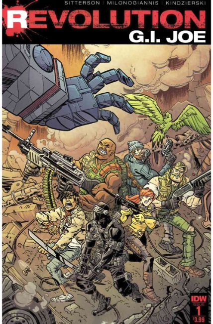 GI Joe Revolution #1 [IDW Comic] THUMBNAIL