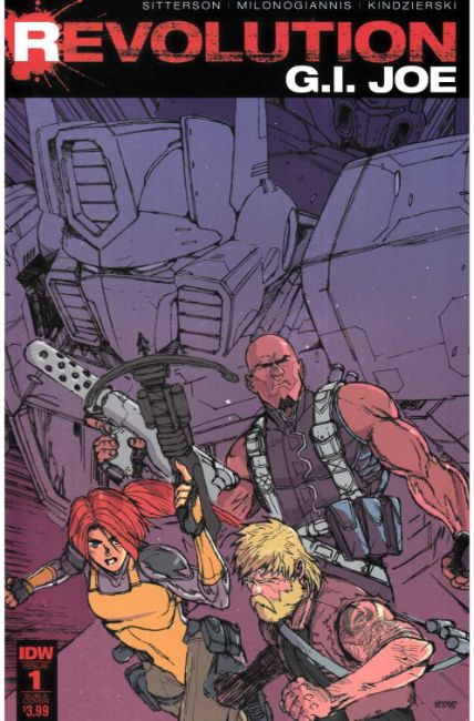 GI Joe Revolution #1 Subscription Cover [IDW Comic]
