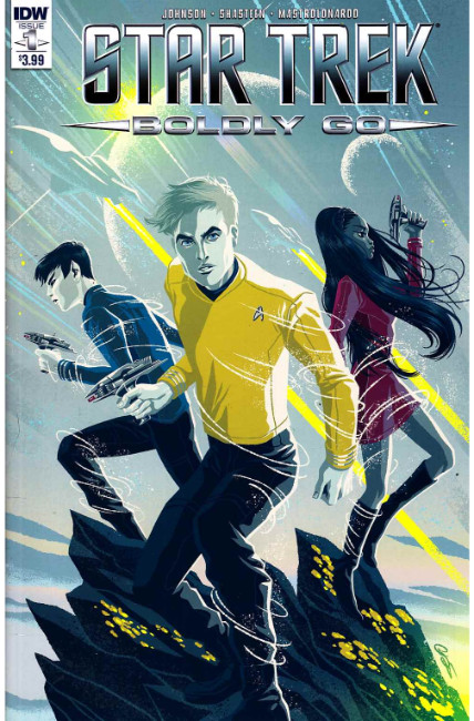 Star Trek Boldly Go #1 [IDW Comic] THUMBNAIL