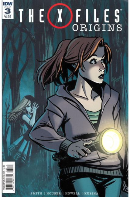 X-Files Origins #3 [IDW Comic] THUMBNAIL