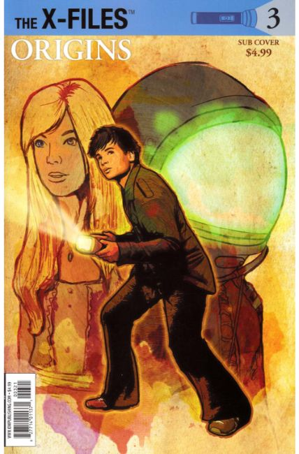 X-Files Origins #3 Subscription Cover [IDW Comic]_THUMBNAIL