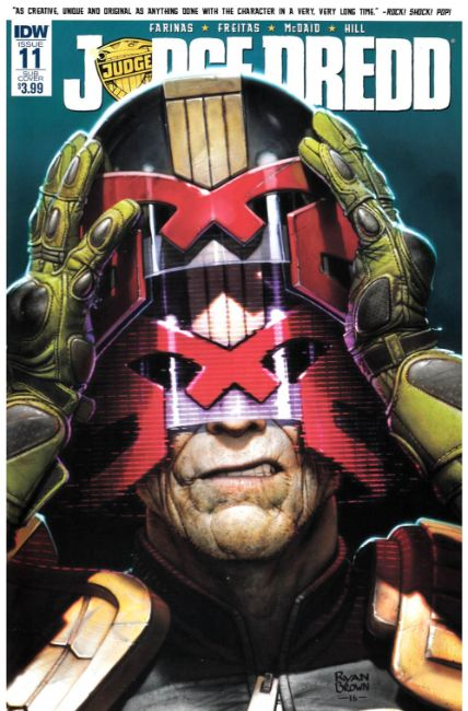 Judge Dredd (Ongoing) #11 Subscription Cover [IDW Comic] LARGE
