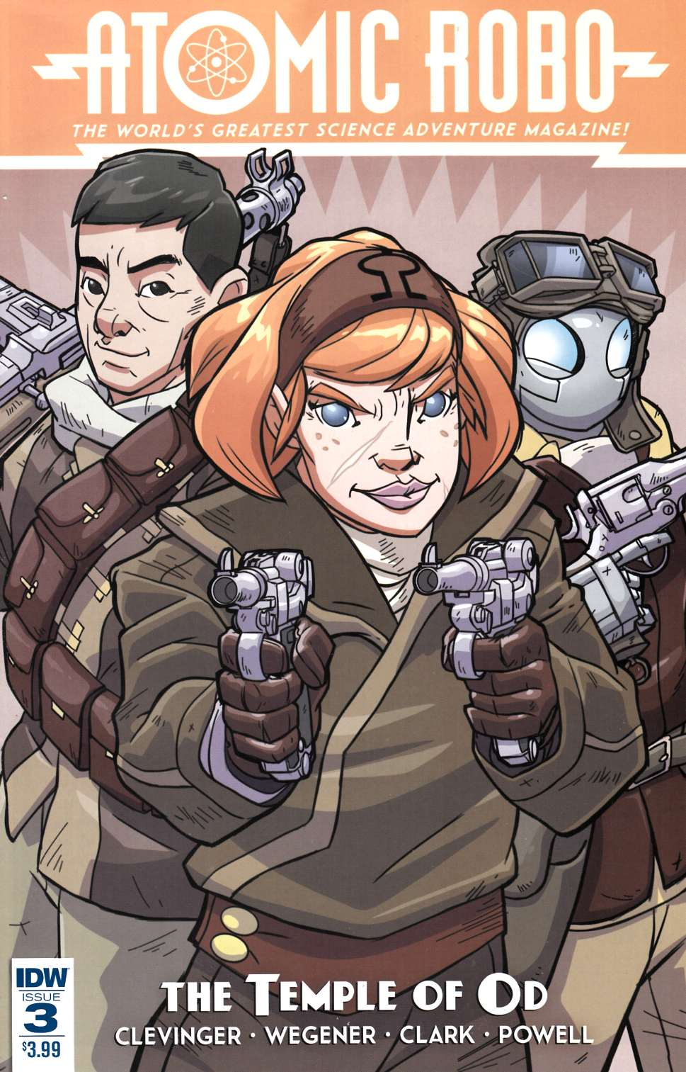 Atomic Robo and the Temple of Od #3 [IDW Comic] LARGE