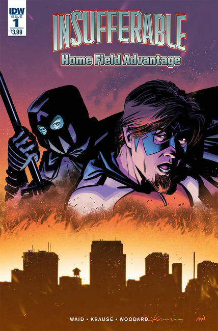 Insufferable Home Field Advantage #1 [IDW Comic] LARGE