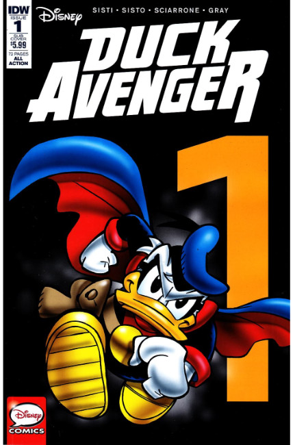 Duck Avenger #1 Subscription Cover [IDW Comic] THUMBNAIL
