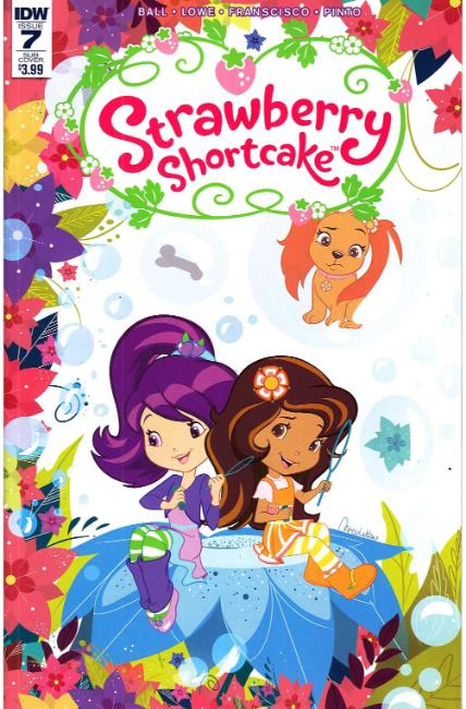 Strawberry Shortcake #7 Subscription Cover [IDW Comic] THUMBNAIL
