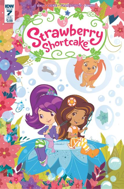 Strawberry Shortcake #7 Scented Cover [IDW Comic] THUMBNAIL