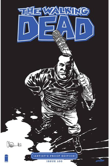 Image Giant Sized Artists Proof Edition The Walking Dead #100 [Image Comic]