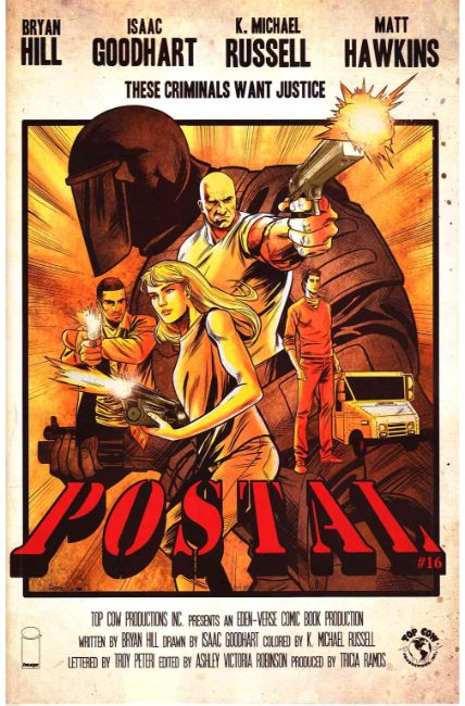 Postal #16 Cover B [Image Comic] LARGE