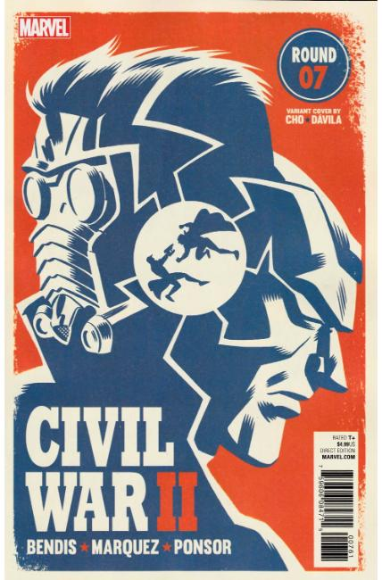 Civil War II #7 Michael Cho Variant Cover [Marvel Comic] LARGE