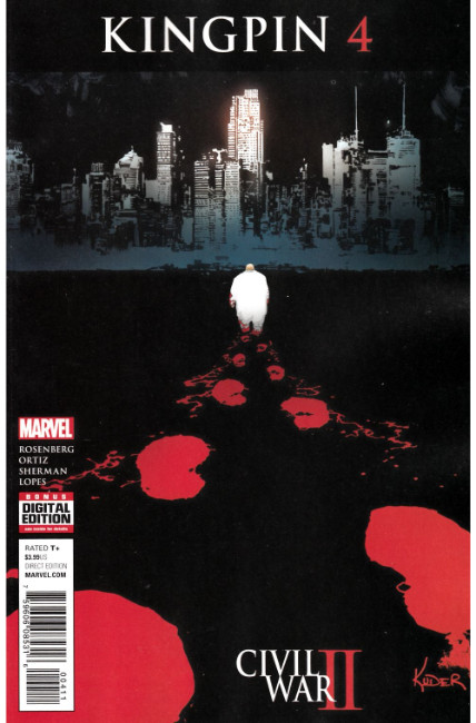 Civil War II Kingpin #4 [Marvel Comic] THUMBNAIL