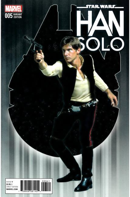 Star Wars Han Solo #5 Movie Variant Cover [Marvel Comic] LARGE