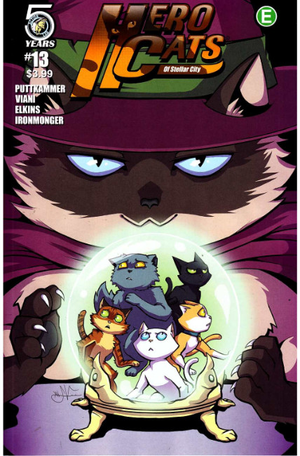 Hero Cats #13 Cover A [Action Lab Comic] THUMBNAIL