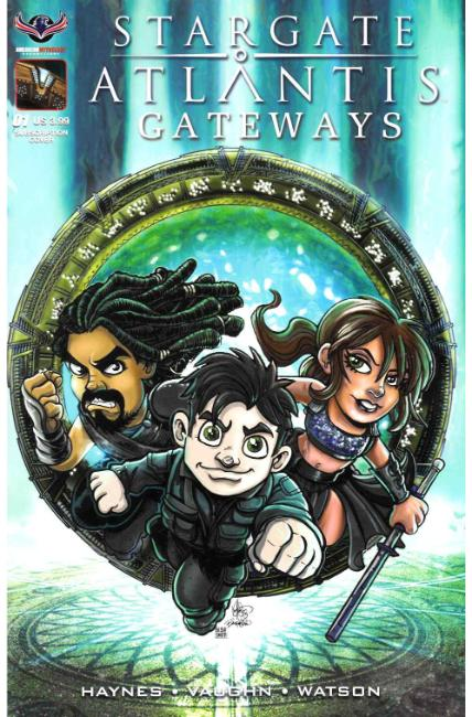 Stargate Atlantis Gateways #1 Gate Kids Cover [American Mythology Comic] THUMBNAIL