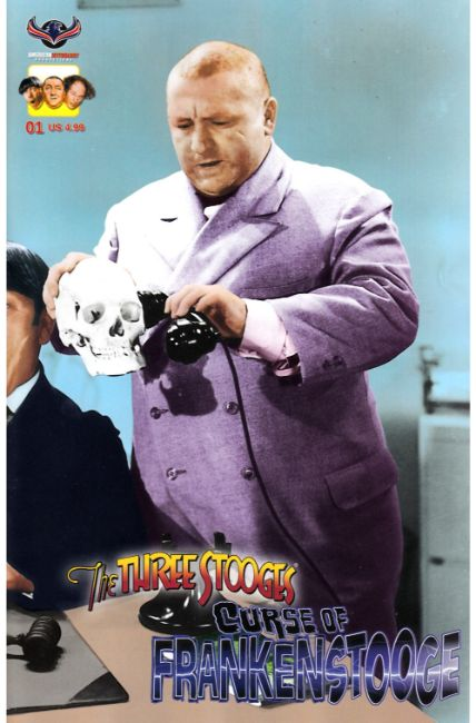 Three Stooges Curse of Frankenstooge (One Shot) Photo Cover [American Myth Comic] THUMBNAIL