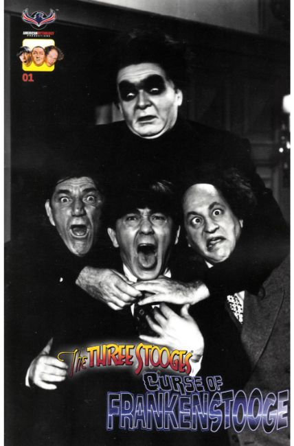 Three Stooges Curse of Frankenstooge (One Shot) Classic Incentive Cover [American Myth Comic] THUMBNAIL