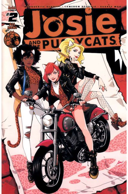 Josie & the Pussycats #2 Cover A [Archie Comic] LARGE