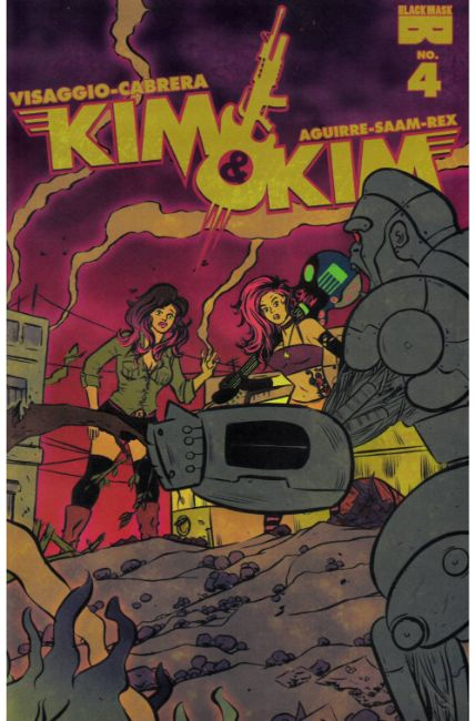 Kim and Kim #4 [Black Mask Comic] THUMBNAIL