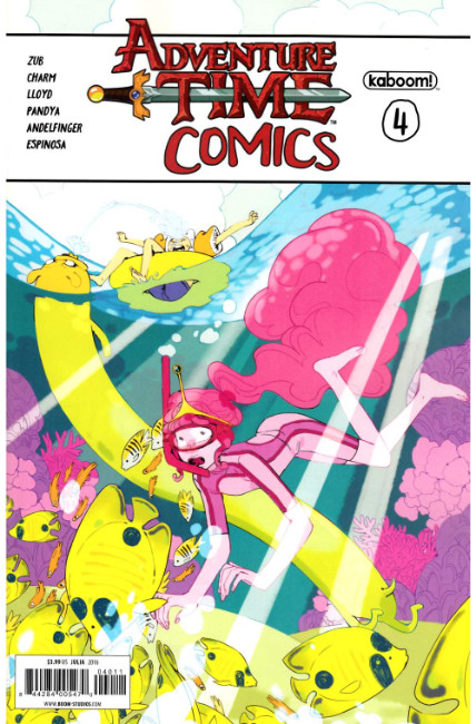 Adventure Time Comics #4 [Boom Comic] THUMBNAIL