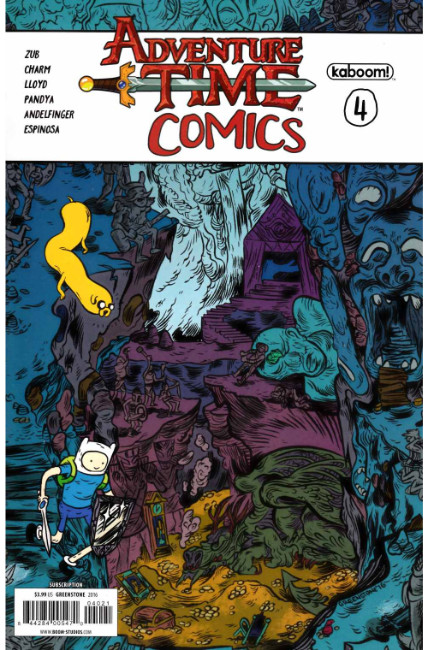 Adventure Time Comics #4 Subscription Cover [Boom Comic] LARGE