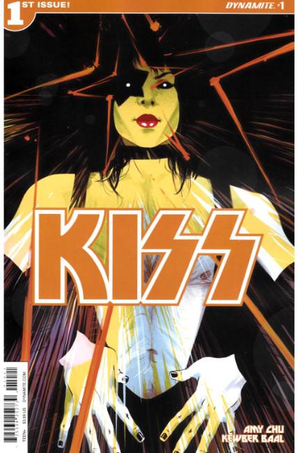 KISS #1 Cover B- Starchild [Dynamite Comic]_THUMBNAIL