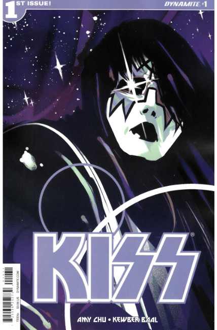 KISS #1 Cover C- Spaceman [Dynamite Comic] THUMBNAIL