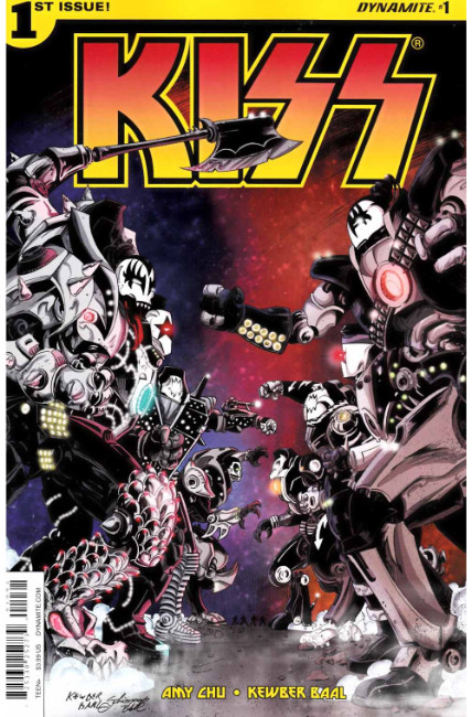 KISS #1 Cover F- Baal [Dynamite Comic] THUMBNAIL