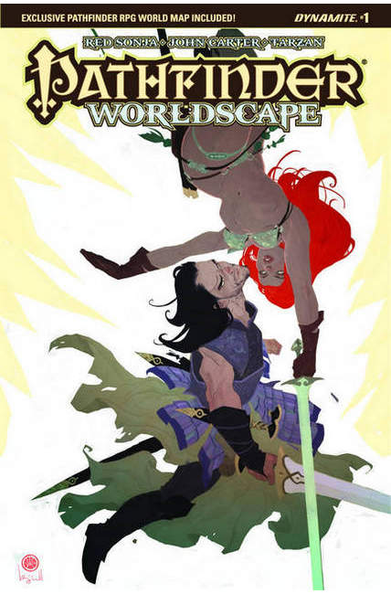 Pathfinder Worldscape #1 Cover B [Dynamite Comic]_THUMBNAIL