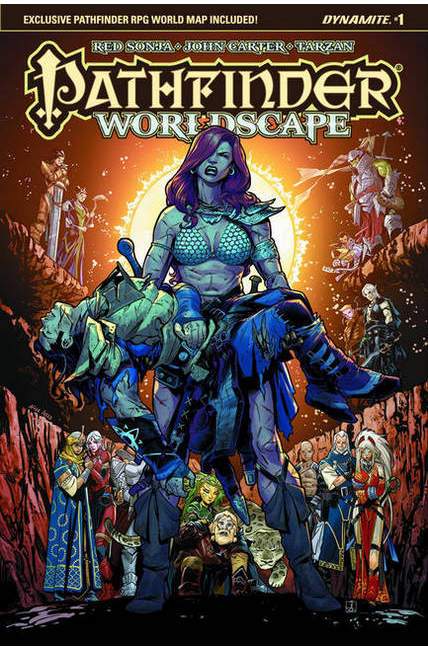Pathfinder Worldscape #1 Cover C [Dynamite Comic]_THUMBNAIL