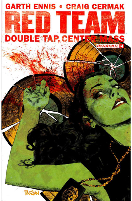 Garth Ennis Red Team Double Tap #4 [Dynamite Comic] THUMBNAIL