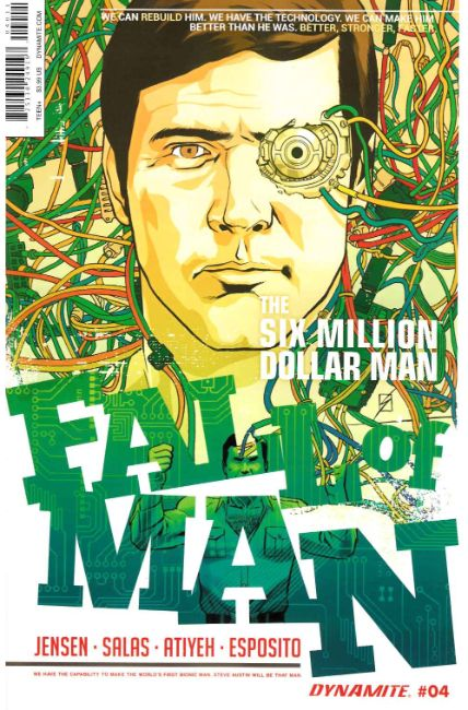 Six Million Dollar Man Fall #4 [Dynamite Comic] LARGE