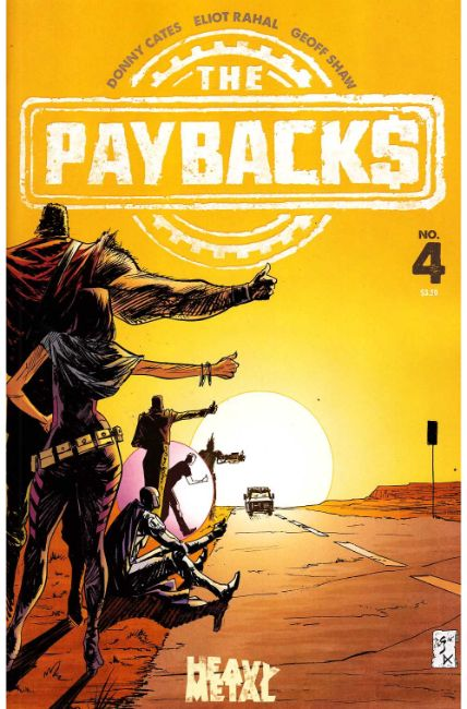 Paybacks #4 [Heavy Metal Comic] LARGE