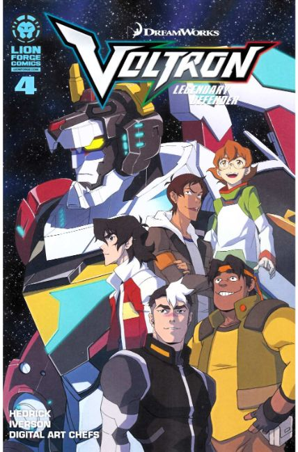 Voltron Legendary Defender #4 Near Mint (9.4) [Lion Forge Comic] LARGE
