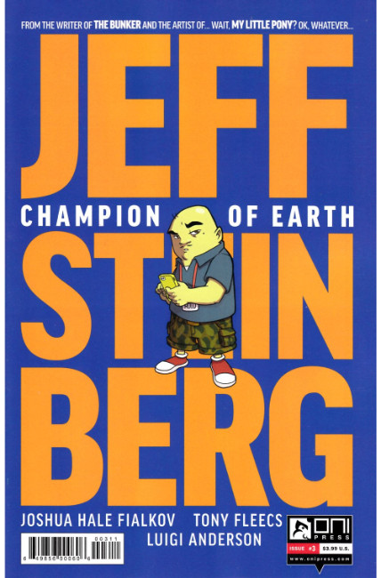 Jeff Steinberg Champion of Earth #3 [Oni Press Comic] LARGE