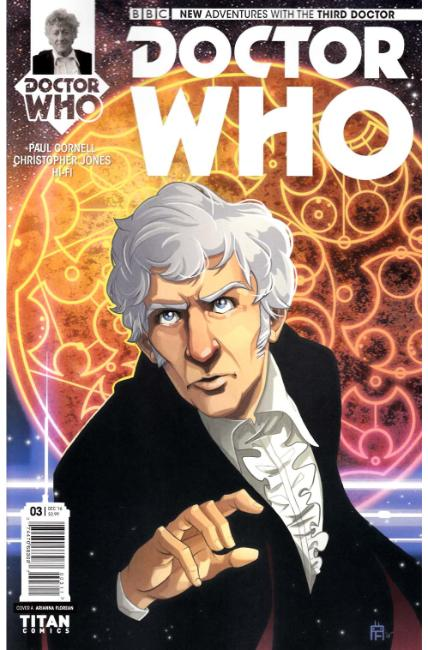 Doctor Who 3rd Doctor #3 Cover A [Titan Comic] THUMBNAIL