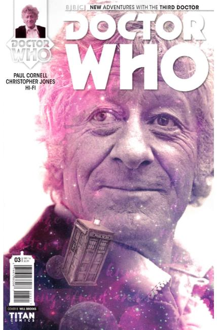 Doctor Who 3rd Doctor #3 Cover B [Titan Comic] THUMBNAIL