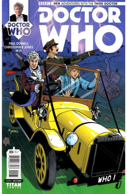 Doctor Who 3rd Doctor #3 Cover C [Titan Comic]