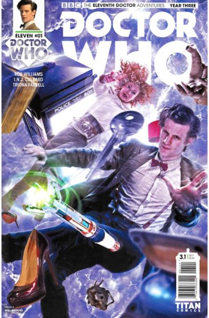Doctor Who 11th Doctor Year Three #1 Cover B [Titan Comic]_THUMBNAIL