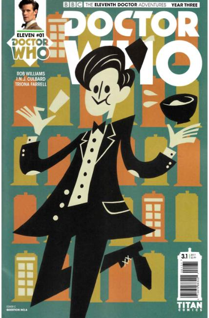 Doctor Who 11th Doctor Year Three #1 Cover C [Titan Comic]_THUMBNAIL