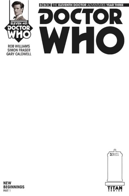 Doctor Who 11th Doctor Year Three #1 Blank Cover [Titan Comic]_THUMBNAIL