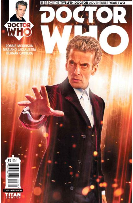Doctor Who 12th Doctor Year Two #13 Cover B [Titan Comic] THUMBNAIL