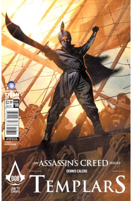 Assassins Creed Templars #8 Cover A [Titan Comic] THUMBNAIL