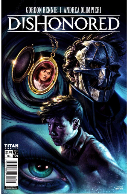 Dishonored #4 Cover A [Titan Comic]