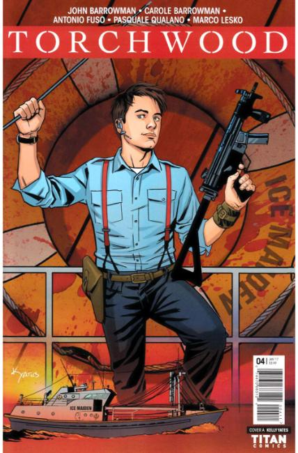 Torchwood #4 Cover A [Titan Comic] THUMBNAIL
