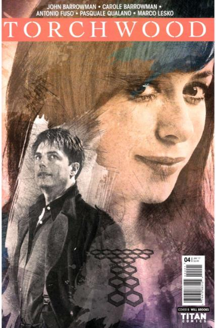 Torchwood #4 Cover B [Titan Comic] THUMBNAIL